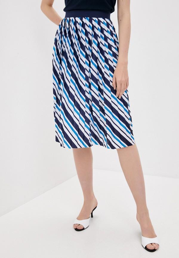 женская юбка tiffosi, синяя