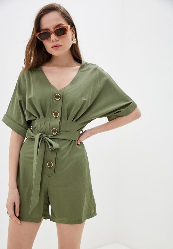 женский комбинезон tiffosi, зеленый