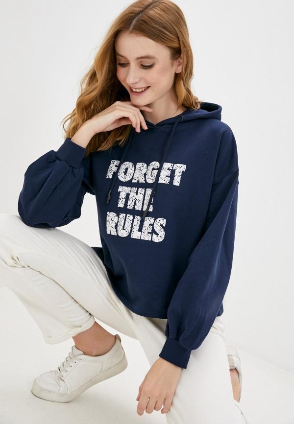 женские худи tiffosi, синие