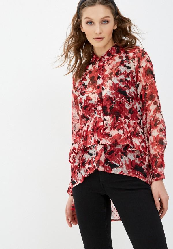 женская блузка tiffosi, красная