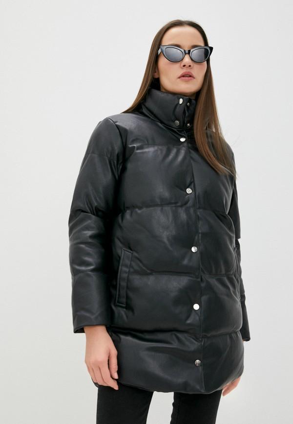 женская куртка tiffosi, черная