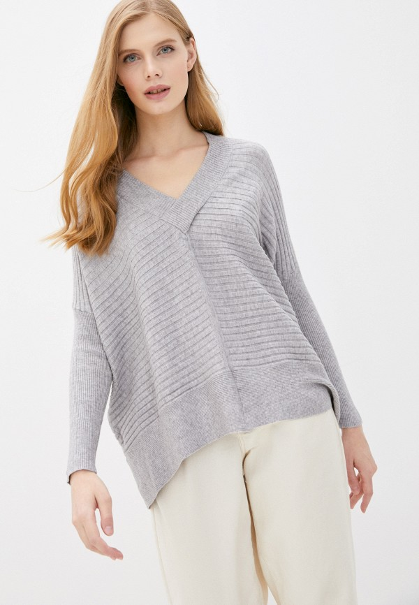 женский пуловер tiffosi, серый