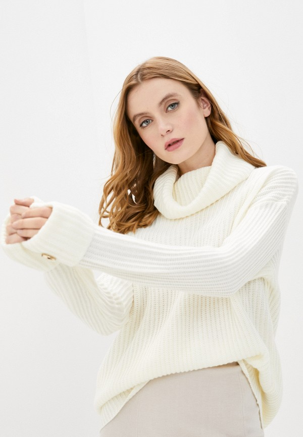 женский свитер tiffosi, белый
