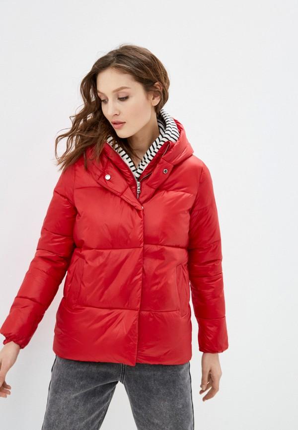 женская куртка tiffosi, красная