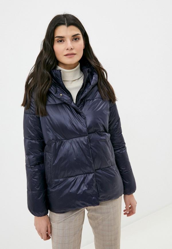 женская куртка tiffosi, синяя