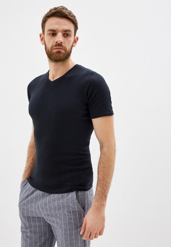 мужская футболка с коротким рукавом torro, черная