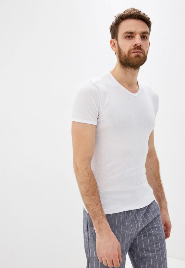 мужская футболка torro, белая
