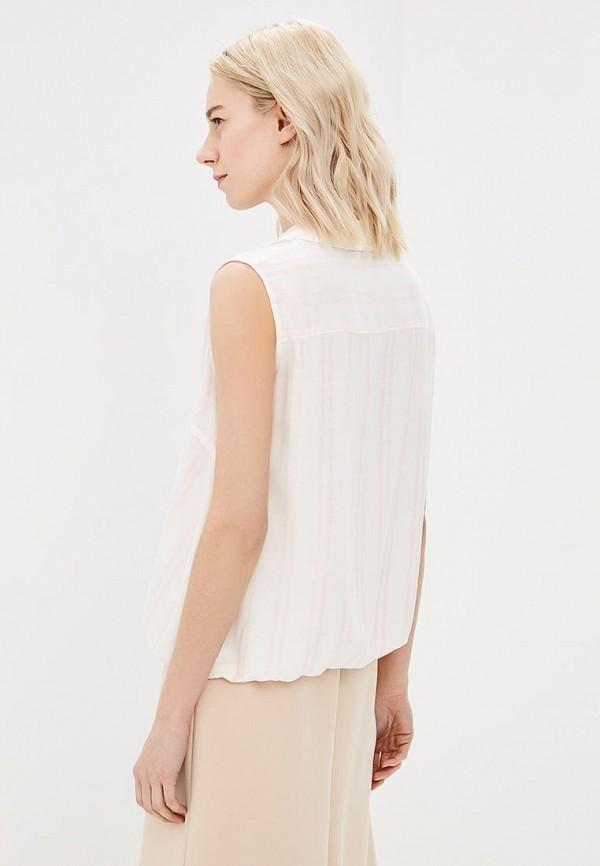 Фото 3 - женскую блузку Tom Farr белого цвета