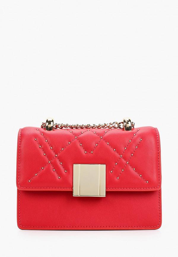 женская сумка через плечо tosca blu, красная