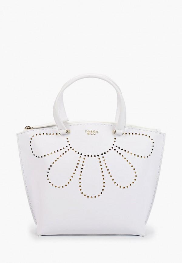 женская сумка tosca blu, белая