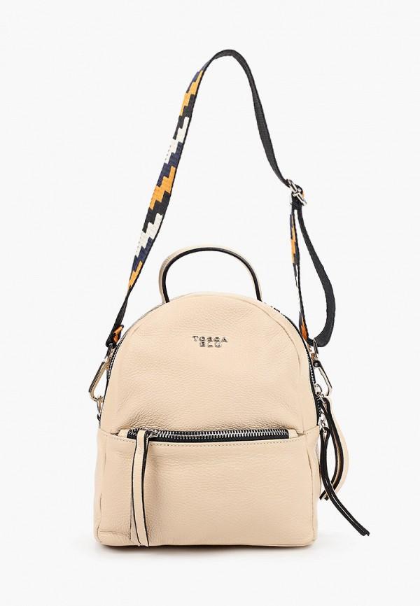 женский рюкзак tosca blu, бежевый
