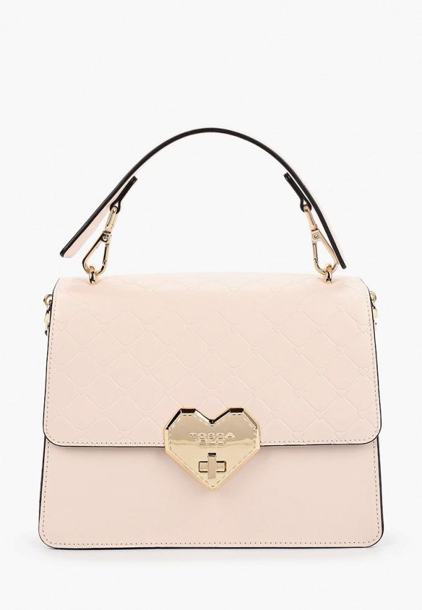 женская сумка tosca blu, розовая