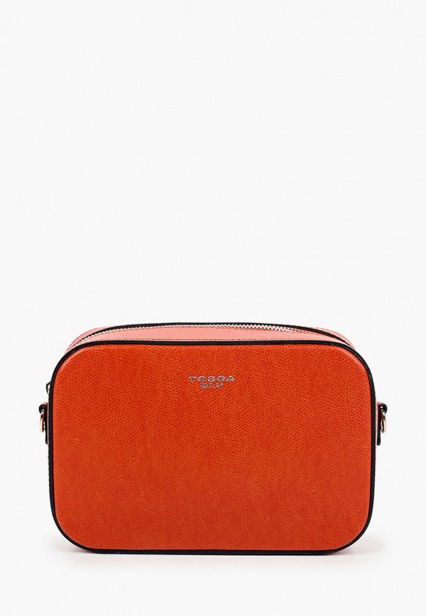 женская сумка tosca blu, оранжевая
