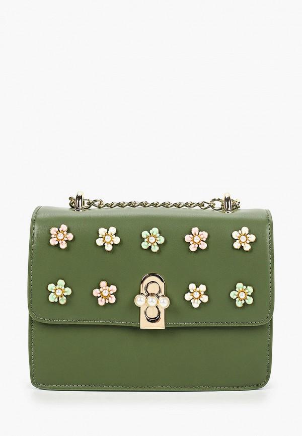 женская сумка tosca blu, зеленая