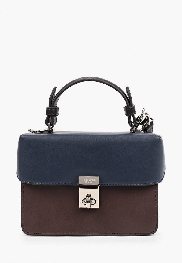 женская сумка tosca blu, коричневая