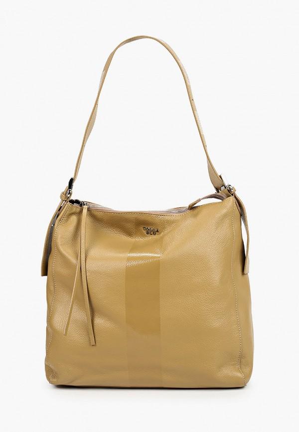 женская сумка tosca blu, бежевая