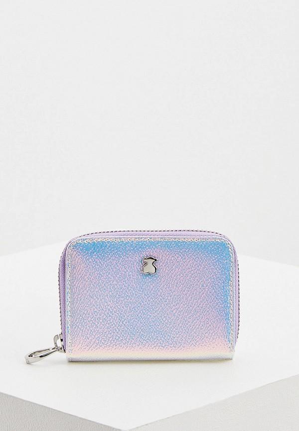 женский кошелёк tous, фиолетовый