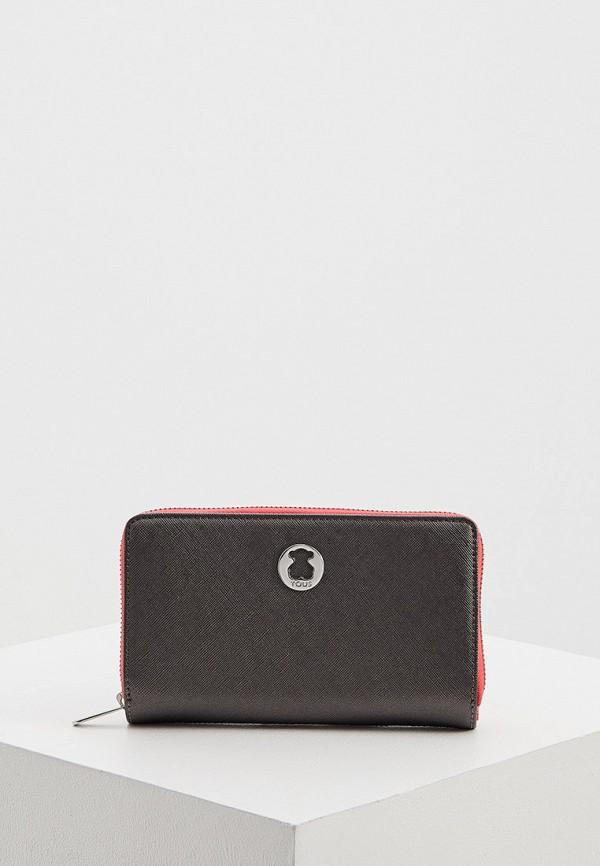 женский кошелёк tous, серый