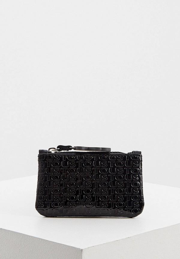 женский кошелёк tous, черный