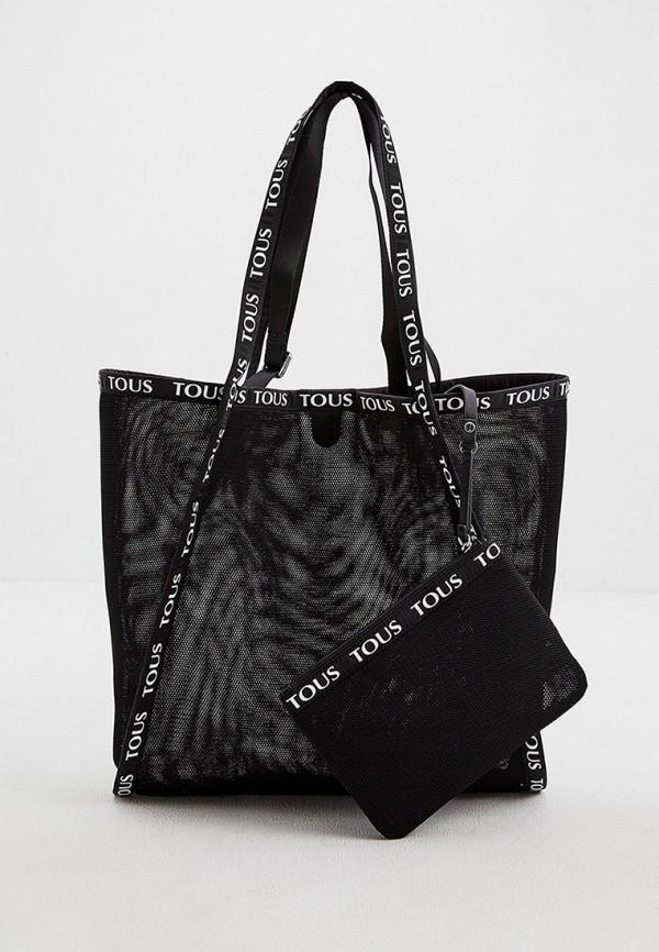 женская сумка tous, черная