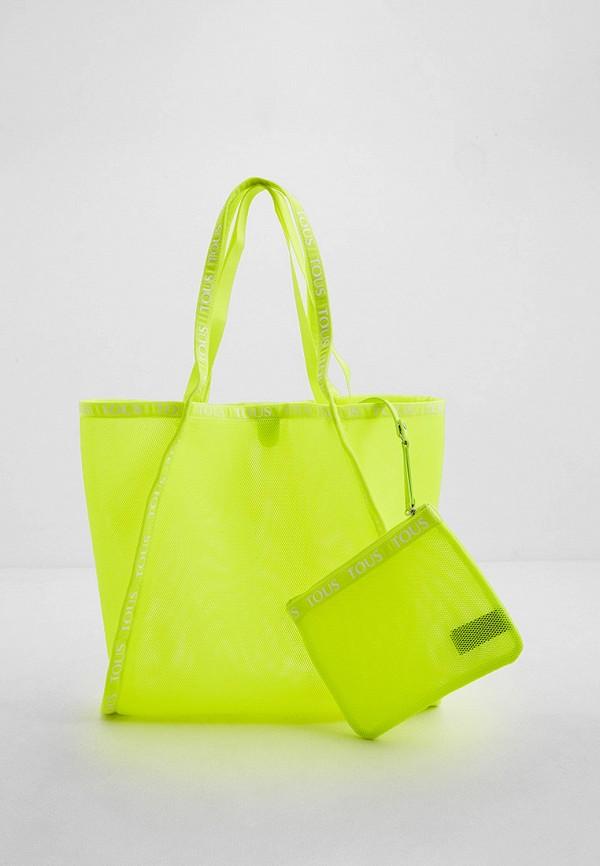 женская сумка tous, желтая