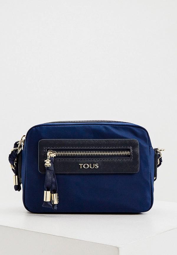 женская сумка tous, синяя