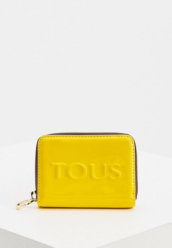 женский кошелёк tous, желтый