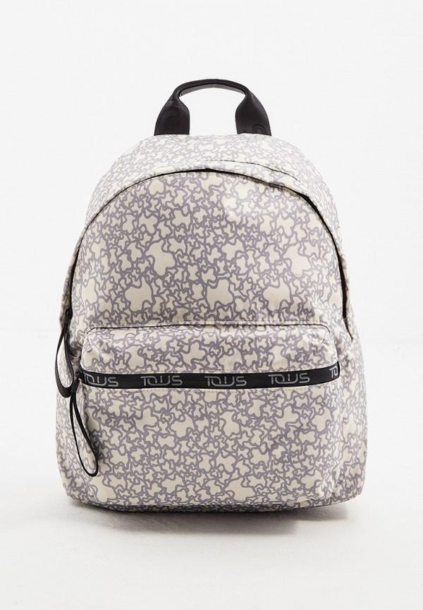 женский рюкзак tous, бежевый
