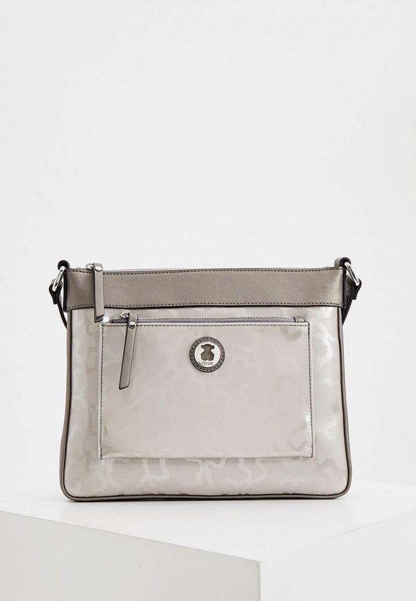 женская сумка tous, серая