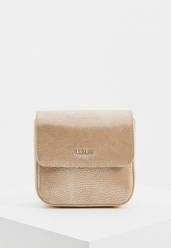 женская сумка tous, золотая