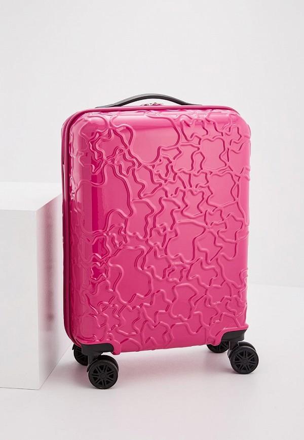 Чемодан Tous Tous TO011BWYVE98 чемодан розовый