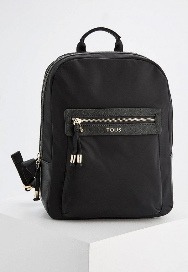 Фото - женский рюкзак Tous черного цвета