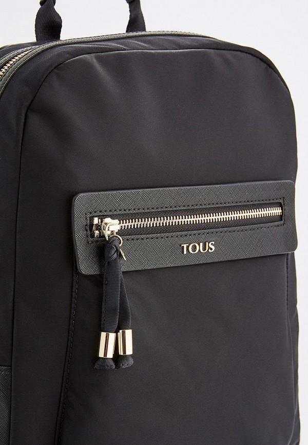 Фото 3 - женский рюкзак Tous черного цвета