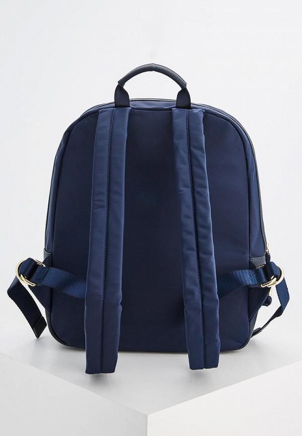 Фото 2 - женский рюкзак Tous синего цвета