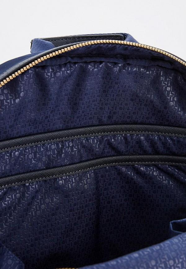 Фото 5 - женский рюкзак Tous синего цвета