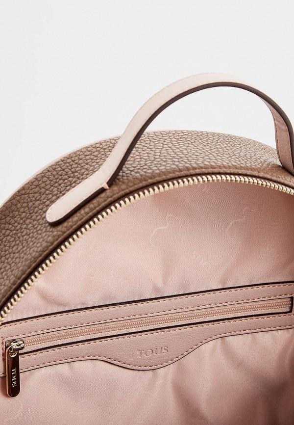 Фото 4 - женский рюкзак Tous коричневого цвета
