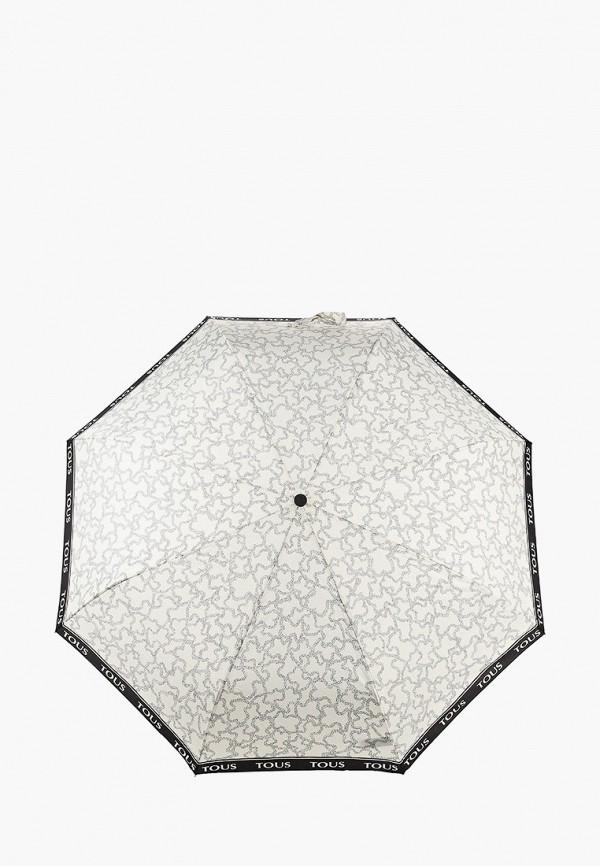женский зонт tous, белый