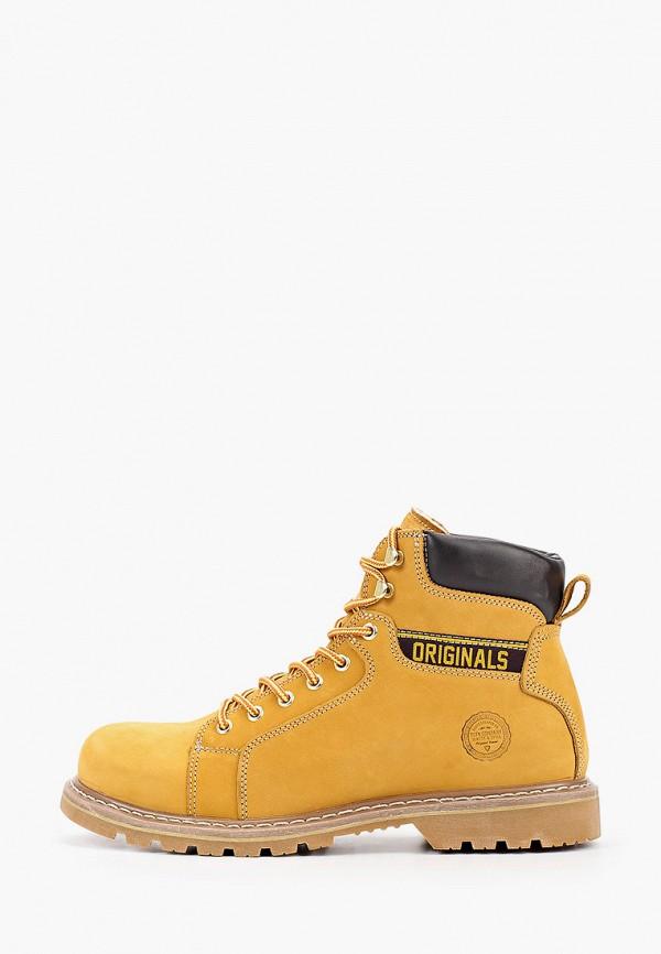 мужские ботинки тофа, коричневые
