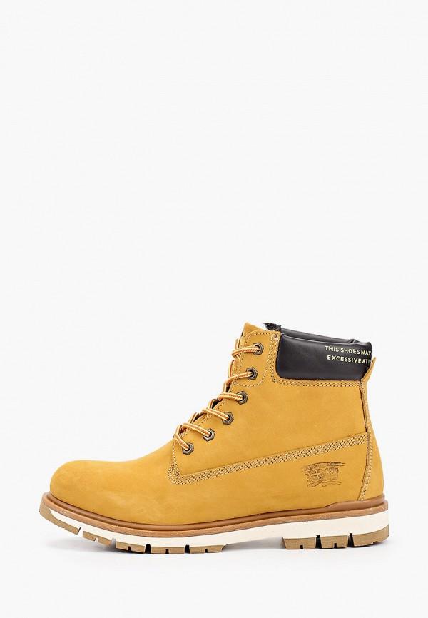 мужские ботинки тофа, желтые