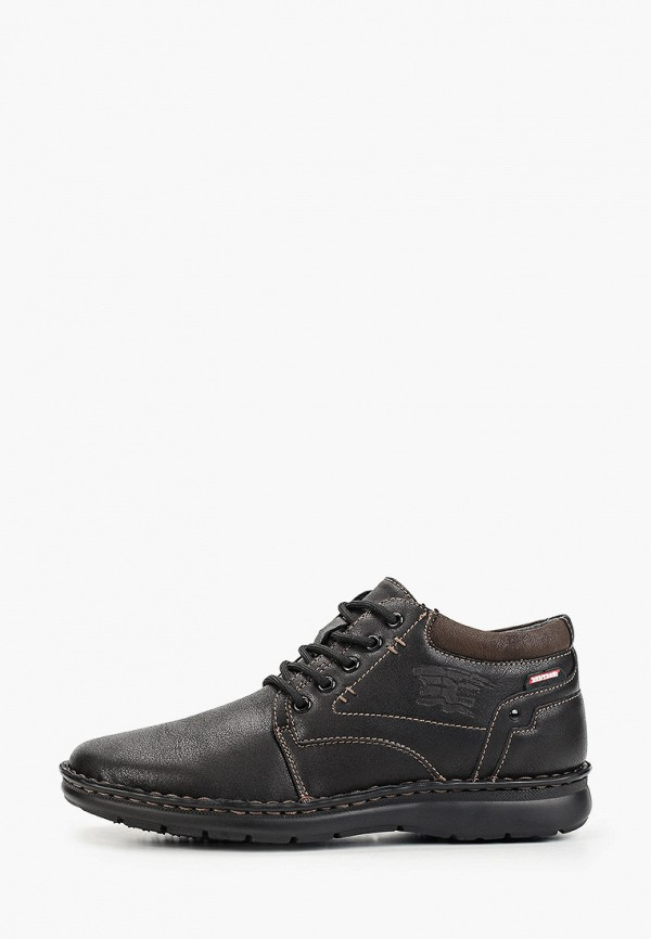 мужские ботинки тофа, черные
