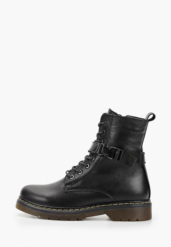 женские ботинки тофа, черные