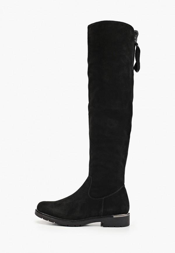 женские ботфорты тофа, черные