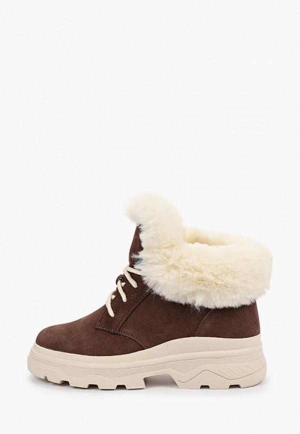 женские ботинки тофа, коричневые