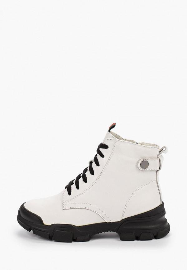 женские ботинки тофа, белые