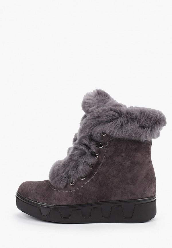 женские ботинки тофа, серые