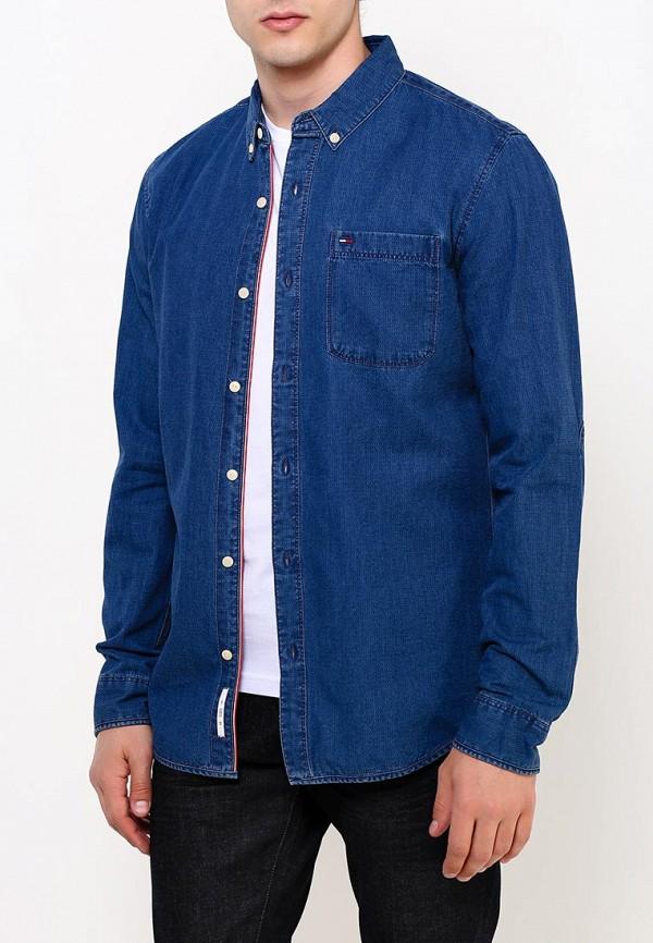 Рубашка джинсовая Tommy Hilfiger Denim Tommy Hilfiger Denim TO013EMTPA15