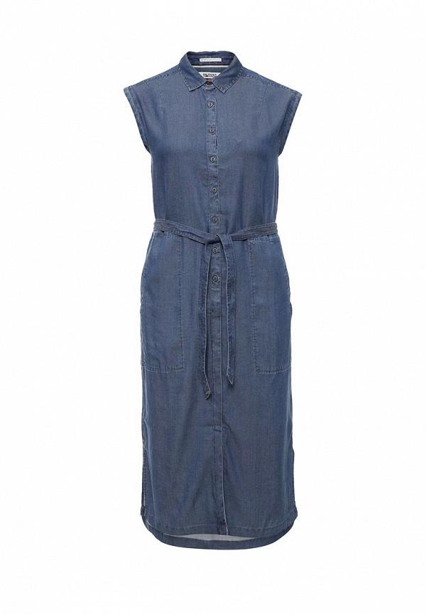 Платье джинсовое Tommy Hilfiger Denim Tommy Hilfiger Denim TO013EWJBU64 туфли hilfiger denim fm0fm00794 990 black