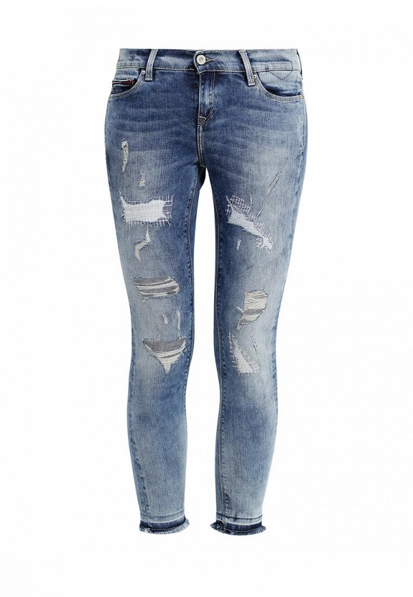 женские джинсы hilfiger denim, голубые