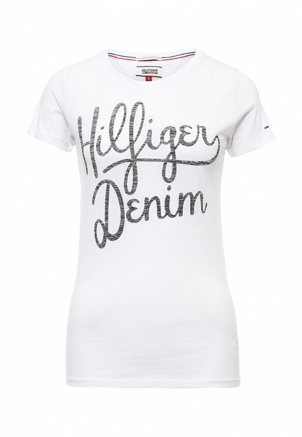 Футболка Tommy Hilfiger Denim Tommy Hilfiger Denim TO013EWPRG64 футболка hilfiger denim 1957888838 002 black iris