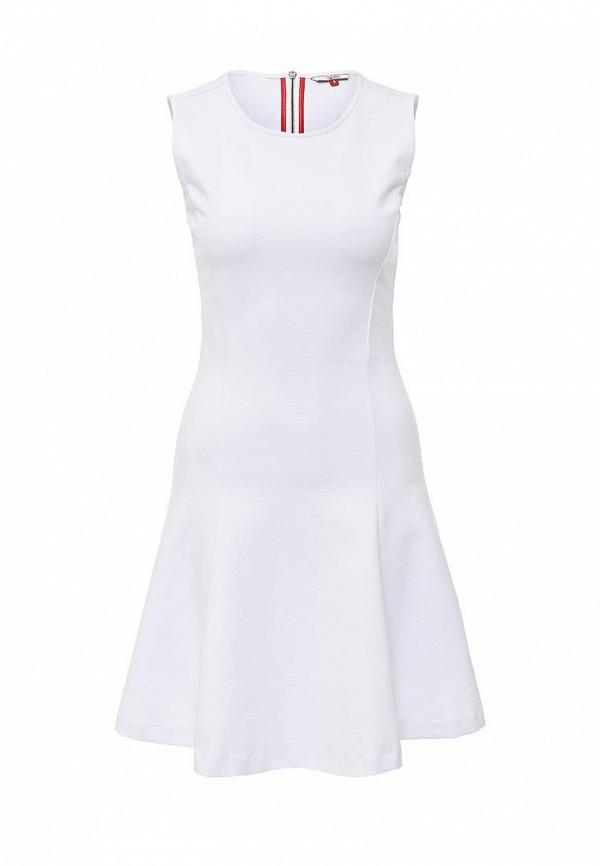 Платье Tommy Hilfiger Denim Tommy Hilfiger Denim TO013EWPRH09 рубашка hilfiger denim dw0dw02778 901 bright white multi